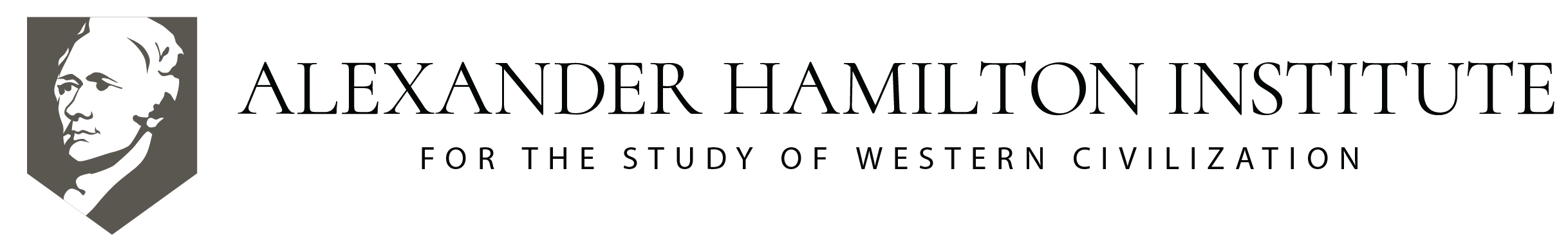 Alexander Hamilton Institute for the Study of Western Civilization Logo