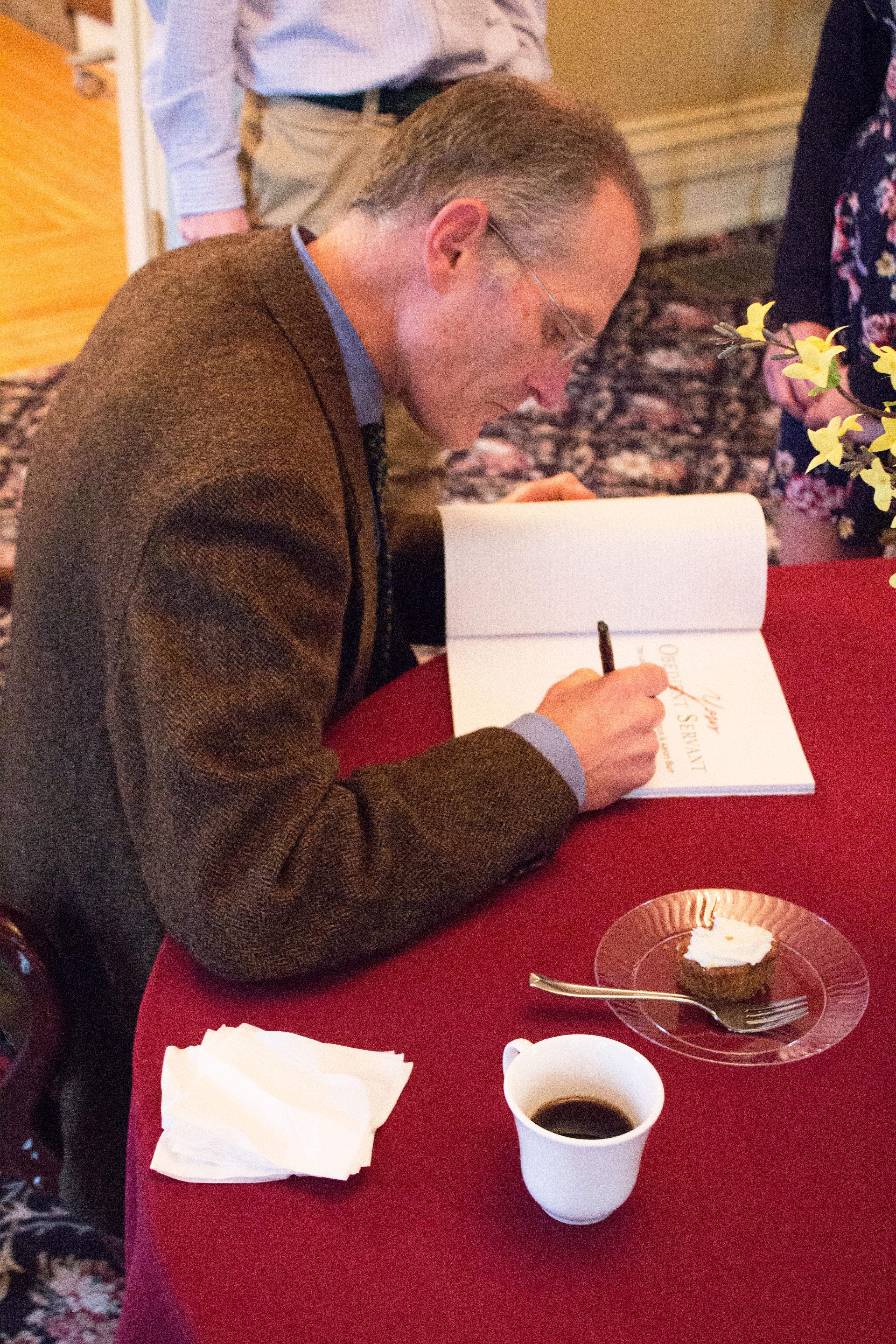 AHI Charter Fellow Douglas Ambrose Signing Copies of New Book on Burr-Hamilton Duel
